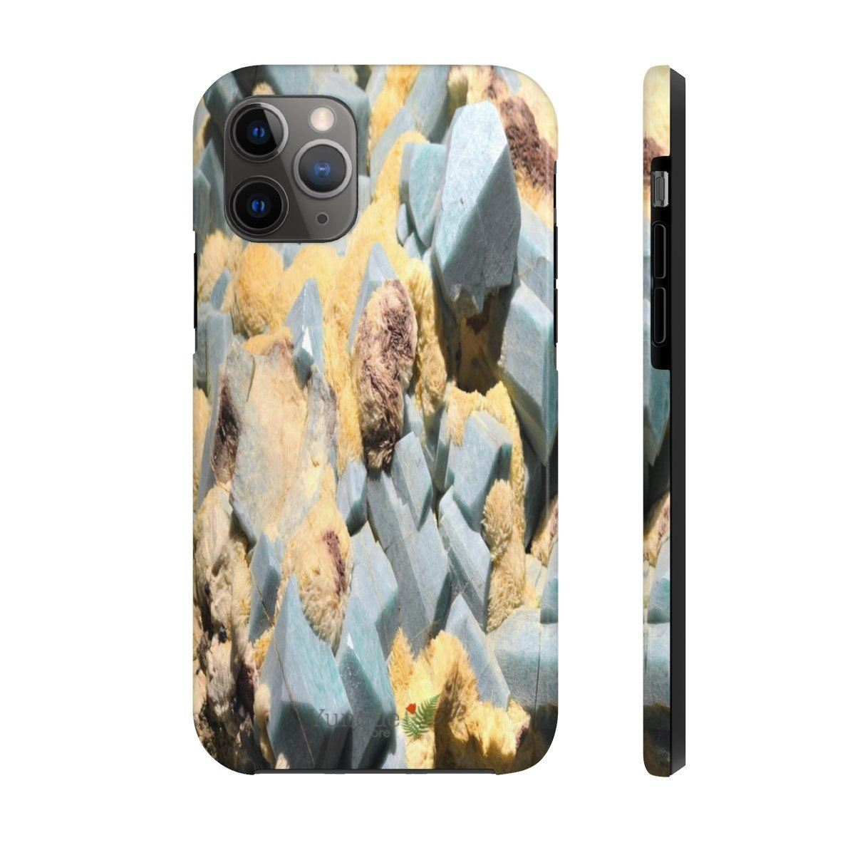 iPhone 11 - Case Mate Tough Phone Cases - Extremely strong plastic - Crystals from minerals - Smithsonian museums- WA DC Phone Case Printify