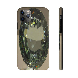 iPhone 11 - Case Mate Tough Phone Cases - Extremely strong plastic - Cursed large diamond - Smithsonian - WA DC Phone Case Printify