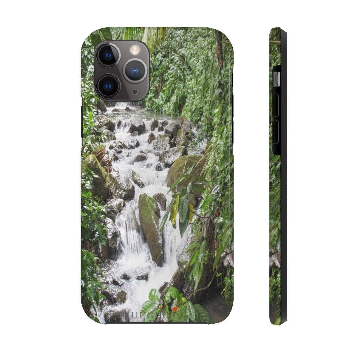 iPhone 11 - Case Mate Tough Phone Cases - Extremely strong plastic - Images from the Rain forest, beaches, caves, pets and more from Puerto Rico Phone Case Printify