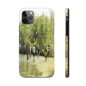 iPhone 11 - Case Mate Tough Phone Cases - Game play on Gilligan island - PR Phone Case Printify