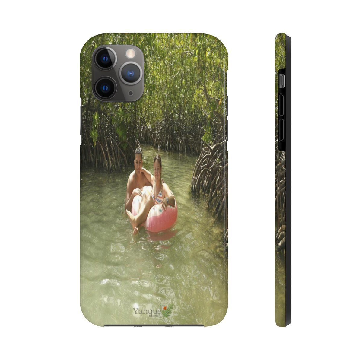 iPhone 11 - Case Mate Tough Phone Cases - Jose and Cristal on Gilliagans island swamp - PR Phone Case Printify
