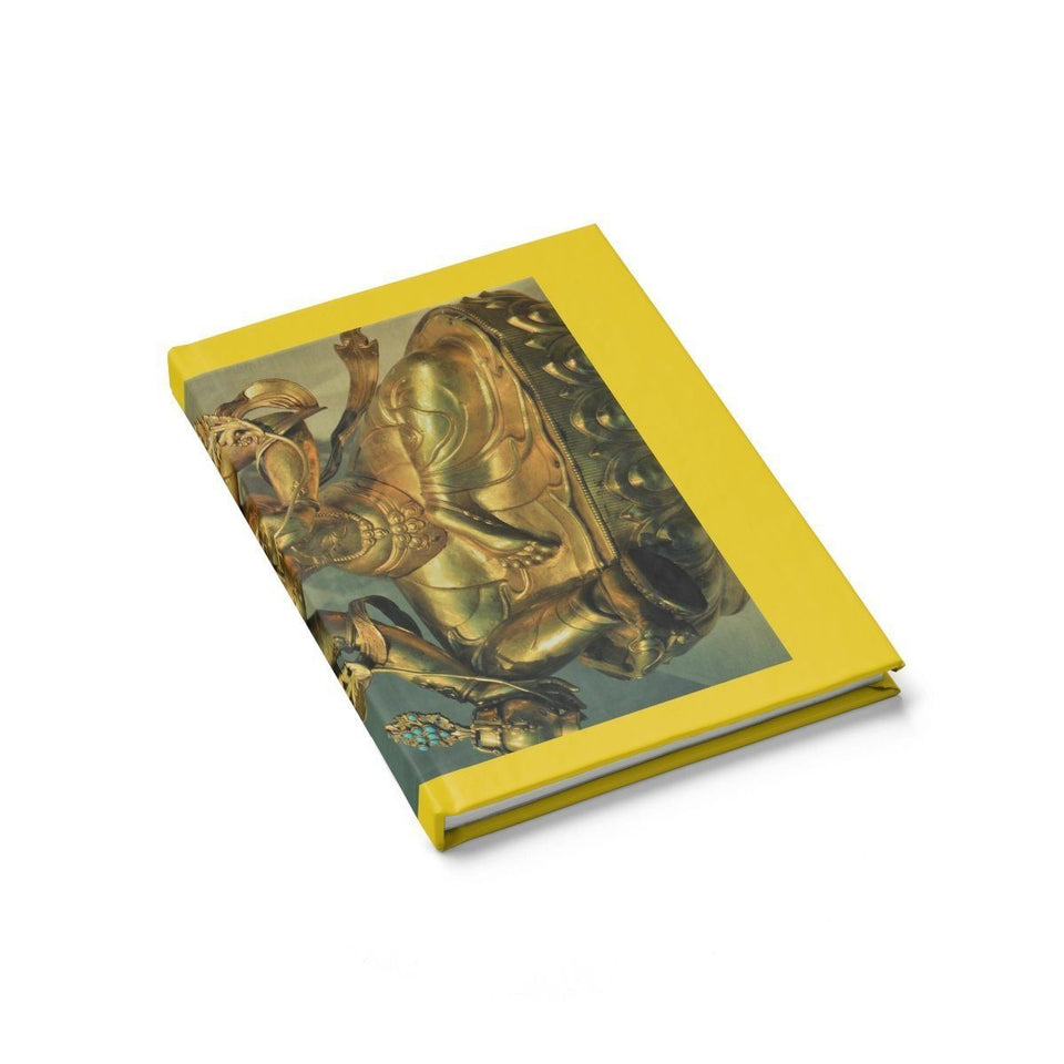 Journal - Ruled Line - The Goddes Tara of Infinite and deep Compassion and Wisdom Paper products Printify