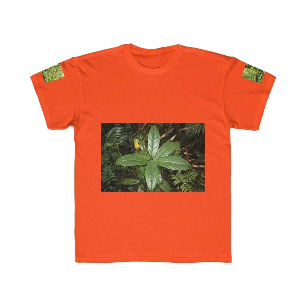 Kids Regular Fit Tee - Plants and sierra palm forest - EYNF - El Yunque Rain Forest Puerto Rico - Yunque Store
