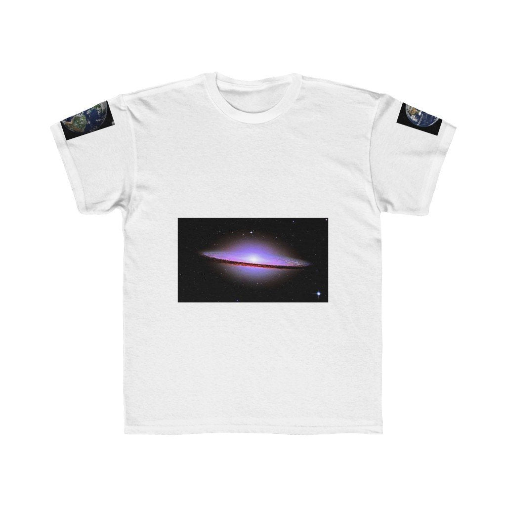 Kids Regular Fit Tee - The Andromeda galaxy - closest to the Earth at 2.5 million light-years - NASA image - Yunque Store