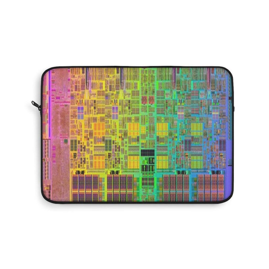 Laptop Sleeve - Intels I7 CPU design - the basis of faster windows and other O/S's Laptop Sleeve Printify