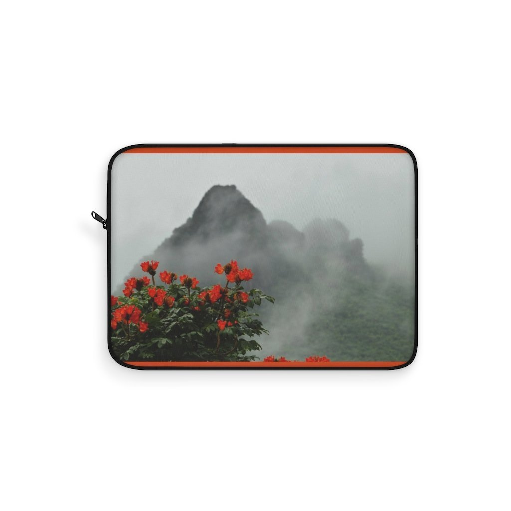 Laptop Sleeve - View at 1k feet alt. from Yokahu tower after storm - El Yunque rain forest PR - Yunque Store