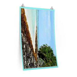 Low cost quality Posters - Pristine and remote - Pajaros Beach blue beachin Mona Island PR - Yunque Store