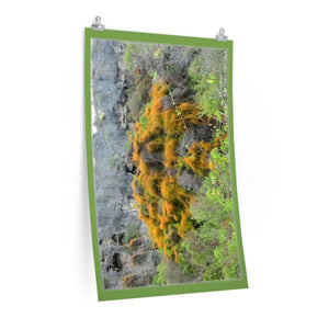 Low cost quality Posters - Pristine and remote - Pajaros Beach road up - in Mona Island PR Poster Printify