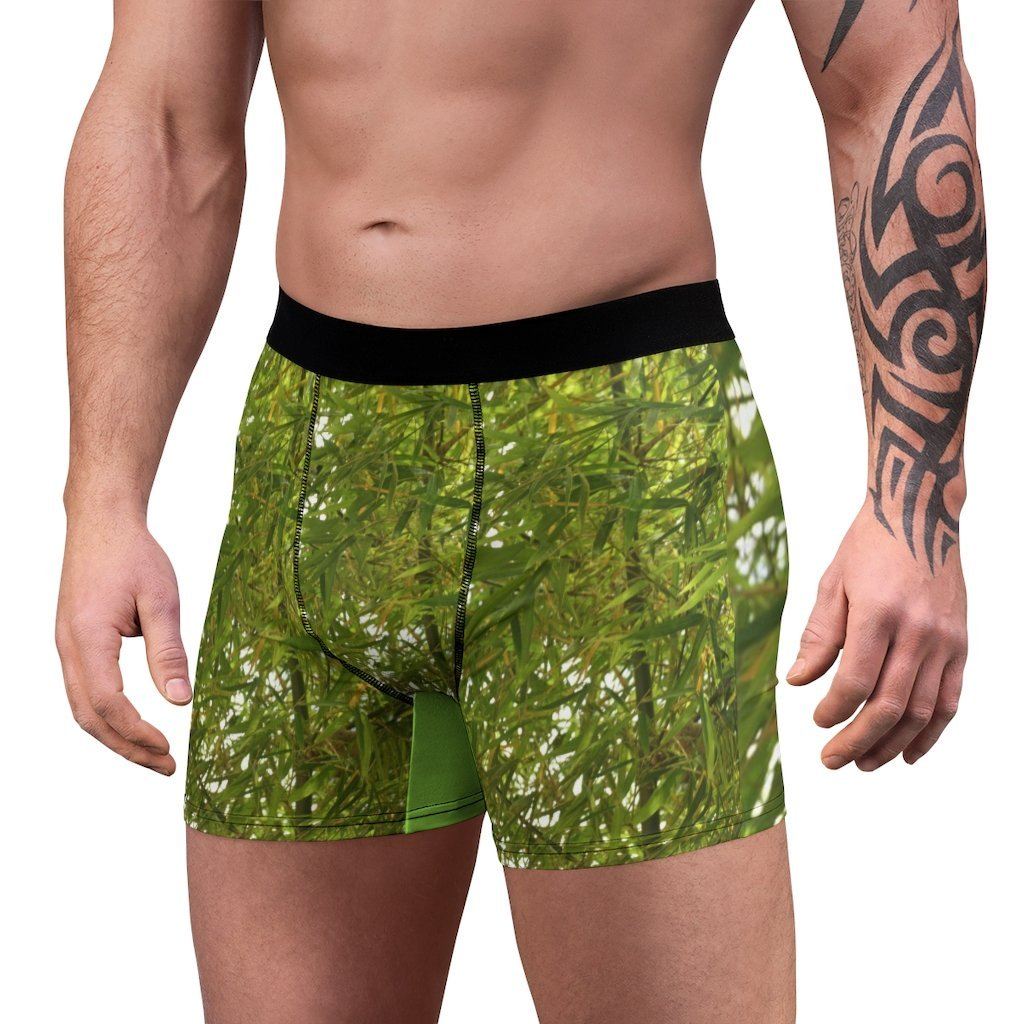 Men's Boxer Briefs - Bamboo in the Rio Sabana park - El Yunque PR - Yunque Store