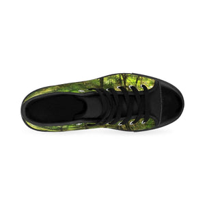 Men's High-top Sneakers - Sierra Palm cloud forest - El Yunque rain forest PR Shoes Printify