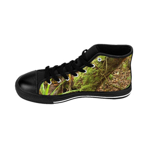 Men's High-top Sneakers - Trees of the Forest - El Yunque rain forest PR Shoes Printify
