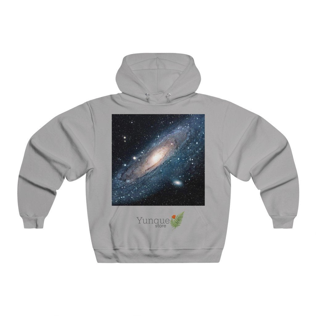 Men's NUBLEND® Hooded Sweatshirt - The Andromeda galaxy - closest to the Earth at 2.5 million light-years - NASA image - Yunque Store