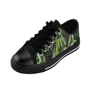 Men's Sneakers - Bamboo leaves - El Yunque rain forest PR Shoes Printify
