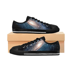 Men's Sneakers - The Andromeda galaxy - closest to the Earth at 2.5 million light-years - NASA image Shoes Printify