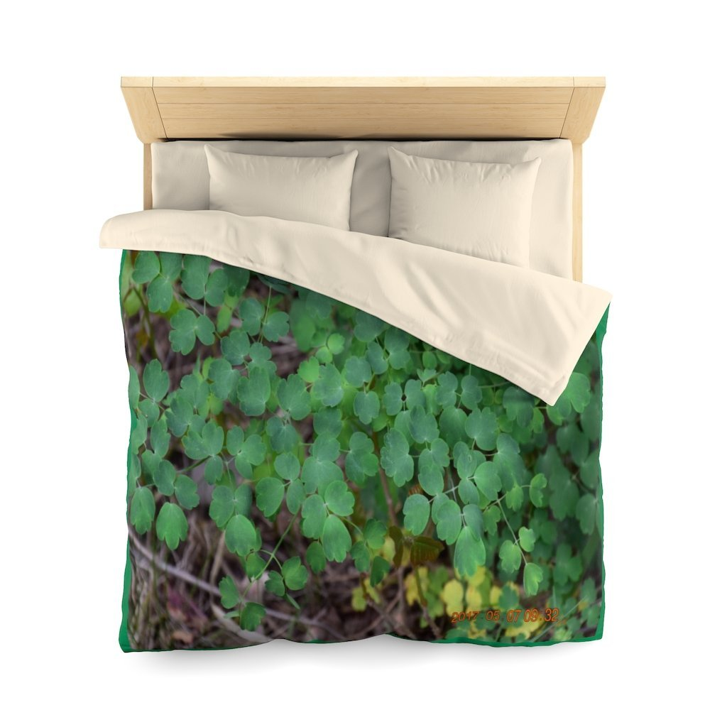 Microfiber Duvet Cover - Ground foilage in Sedonia park near Grand Canyon - AZ USA - Yunque Store
