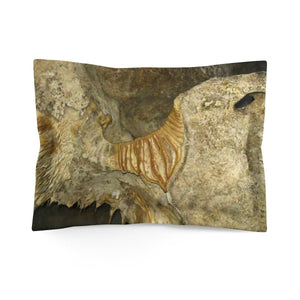 Microfiber Pillow Sham - Unique REMOTE Mona Island - Galapagos of the Caribbean – Puerto Rico Home Decor Printify