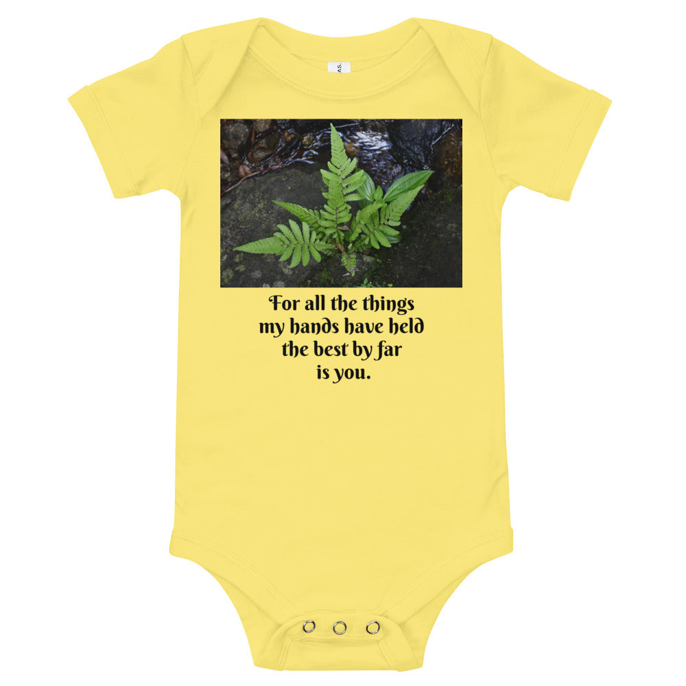 US Print - Bella+Canvas 100% Cotton - Baby T-Shirt - El Yunque rainforest  Puerto Rico - 14km Tradewinds Trail Paradise on Earth! Ferns and View