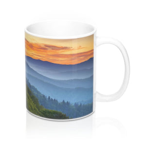 Mug 11oz - Celebrating the Awesome Great Smoky Mountain National Park - Yunque Store