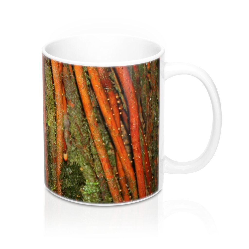 Mug 11oz - UK Print - Sierra Palm roots - Tradewinds trail - El Yunque rain forest Puerto Rico - Yunque Store