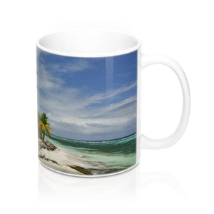 Mug 11oz - UNIQUE Mona remote beaches - Island of Puerto Rico - Yunque Store