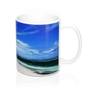 Mug 11oz - Unique REMOTE Mona Island - Galapagos of the Caribbean - Puerto Rico - Yunque Store