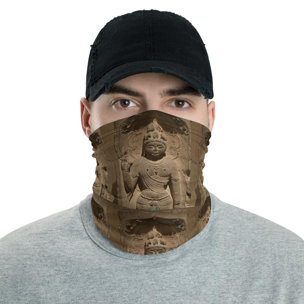 Neck Gaiter Face Covering - Corona Viruses Protection - Ancient Hindu God - Smithsonian WA DC - Yunque Store
