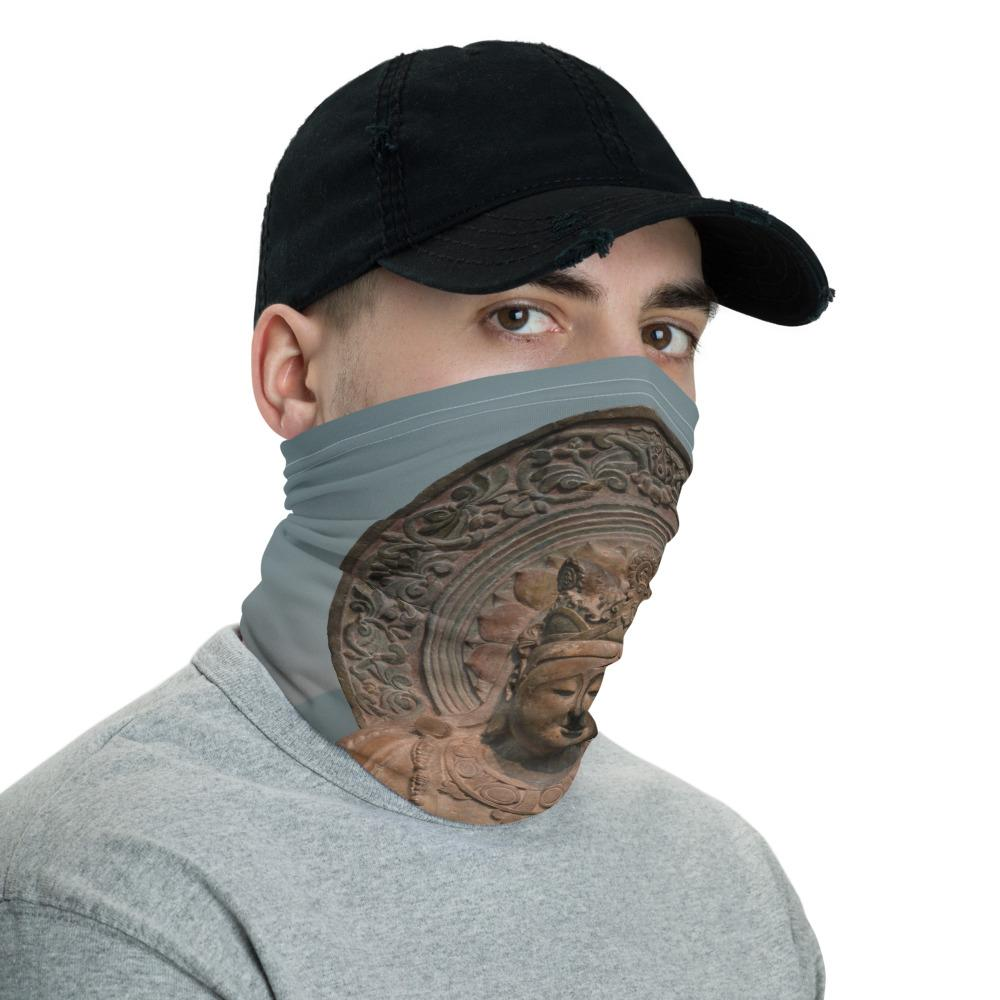 Neck Gaiter Face Covering - Corona Viruses Protection - Buddha in Smithsonian WA DC - Yunque Store
