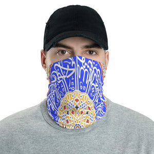 Neck Gaiter Face Covering - Corona Viruses Protection - Copula of Islamic Mosque - Yunque Store