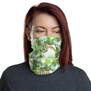 Neck Gaiter Face Covering - Corona Viruses Protection - Rainforest Butterfly - Yunque Store
