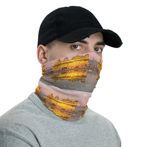 Neck Gaiter Face Covering - Corona Viruses Protection - Sikh Golden Temple India - Yunque Store