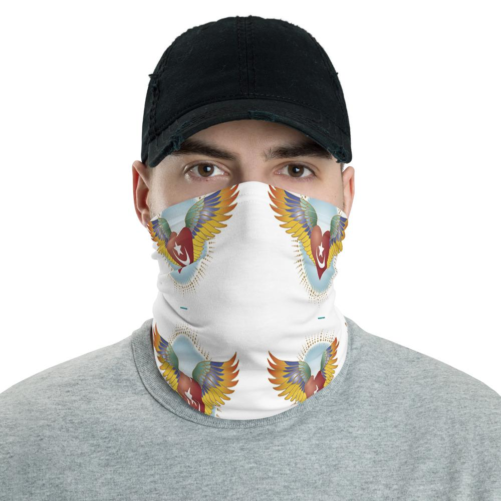 Neck Gaiter Face Covering - Corona Viruses Protection - Sufi Heart Flying to heaven in Love - Yunque Store