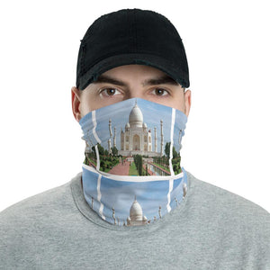 Neck Gaiter Face Covering - Corona Viruses Protection - Taj Mahal India - Yunque Store