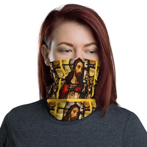 Neck Gaiter Face Covering - Corona Viruses Protection - Window in Christian church - Yunque Store