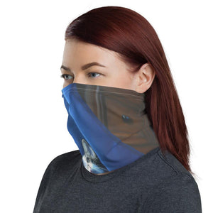 Neck Gaiter Face Mask Coronavirus Protection - Dazzling Dante Cat - Yunque Store