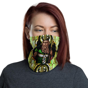 Neck Gaiter - St Patrick in Church Window - Yunque Store