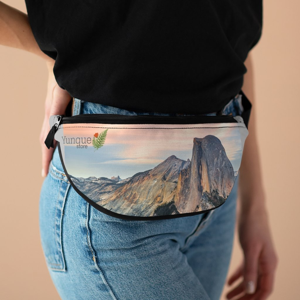 NPS - Fanny Pack with Organizer and Lightweight - The famous Yosemite Half Dome - California - Yunque Store