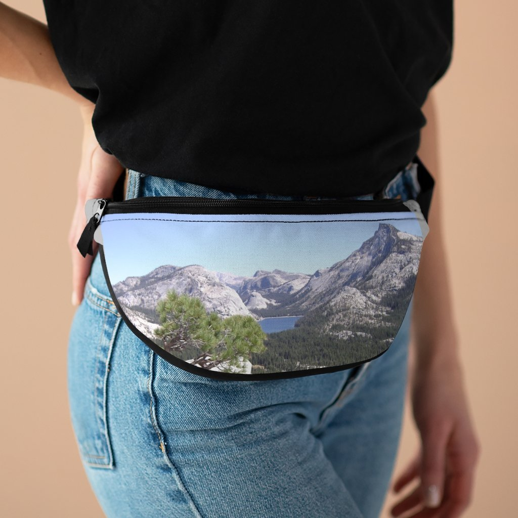 NPS - Fanny Pack with Organizer and Lightweight - The famous Yosemite park upper roads - California - Yunque Store