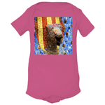 Onesies - Gaudi Mosaic Fountain in Park in Spain - Yunque Store