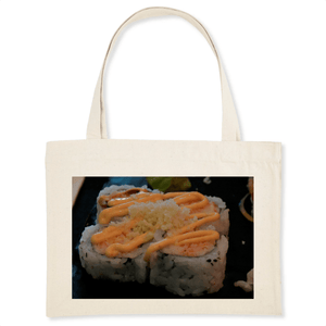 ORGANIC SHOPPING BAG - Who does not love Sushi? - Tokyo Restaurant Humacao PR - Yunque Store