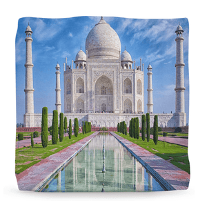 Ottomans - Awesome Taj Mahal - India - built by the King for the Queen he Loved. - Yunque Store