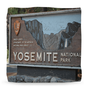 Ottomans - Awesome Views from Yosemite US National Park - California - Set#2 - Yunque Store