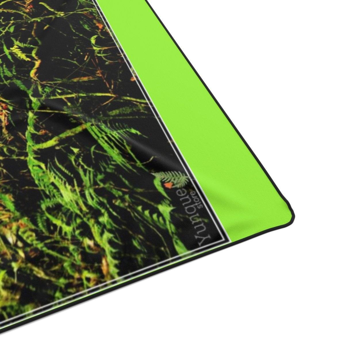 Polyester Blanket - Deep forest explorations - El Yunque rainforest Puerto Rico All Over Prints Printify