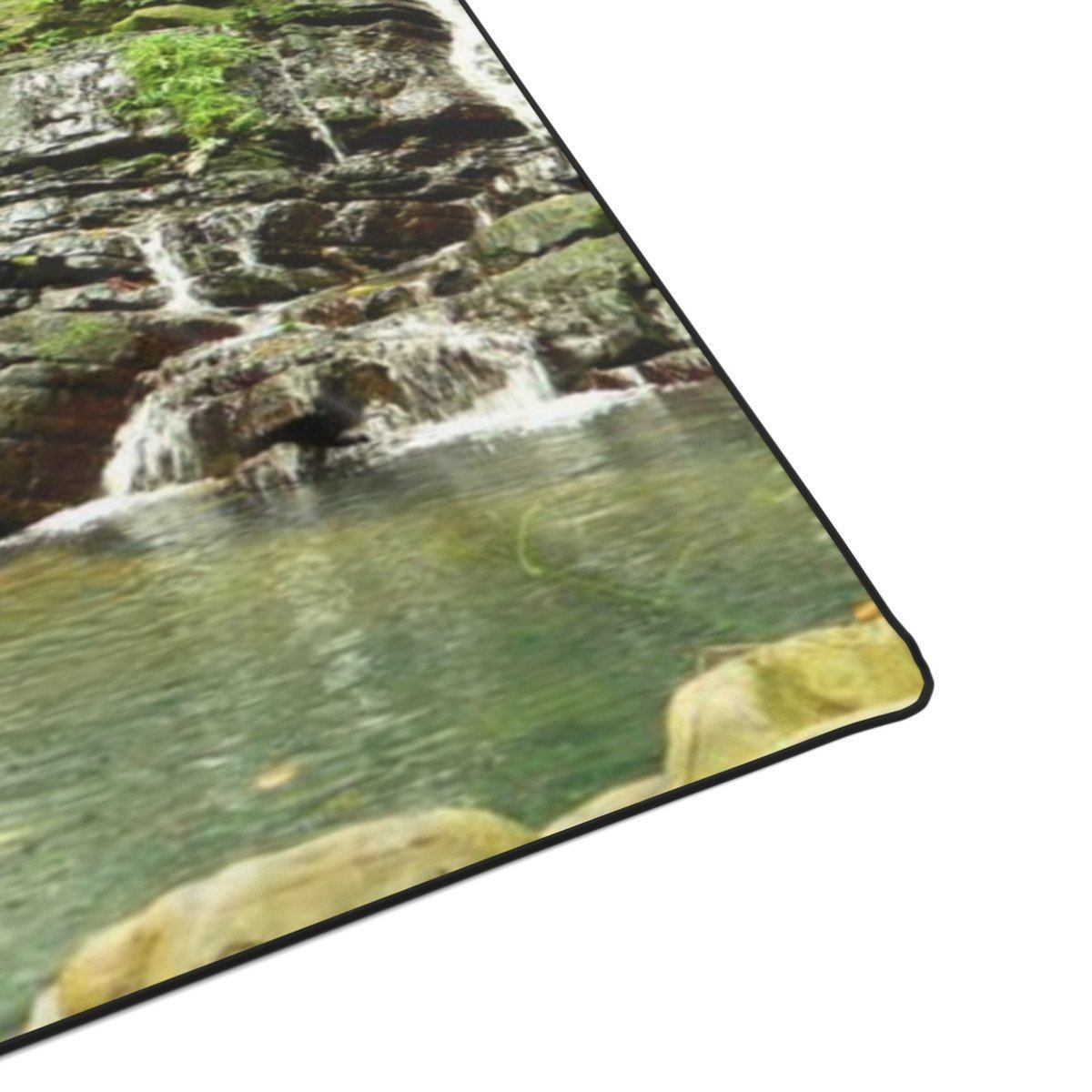 Polyester Blanket - Secret La coca trail waterfall - El Yunque rainforest Puerto Rico All Over Prints Printify