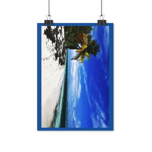 Posters (EU) - Tropical, warm. Awesome, remote, pristine Mona Island near Puerto Rico - Yunque Store