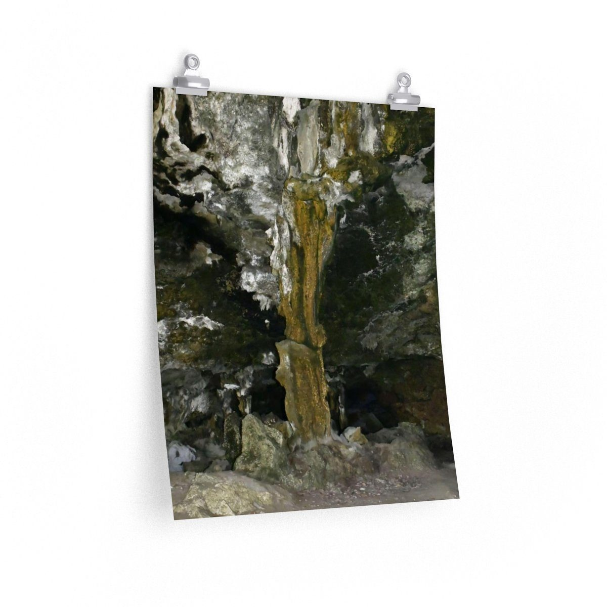 Premium Matte vertical posters - UNIQUE Mona Island remote caves and beaches - Island of Puerto Rico Poster Printify