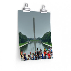 Premium Matte vertical posters - WA DC - The Washington Monument Poster Printify