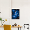 ASTRO-FANS - Premium Semi-Glossy Paper Poster - The ABELL 2744 Cluster of Stars and GALAXIES  - NASA HUBBLE space telescope