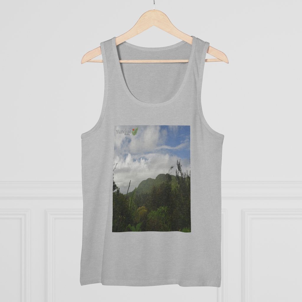 Printed in Germany - Men's Specter Tank Top - Show off the most remote, rarely seen, regions of the rainforest in Puerto Rico - Yunque Store