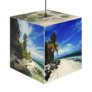 Rare and Beautiful CUBE LAMP 🤩 Make the Pristine and Remote Mona Island 5 x Images come to LIFE - 50 miles from Puerto Rico - Yunque Store