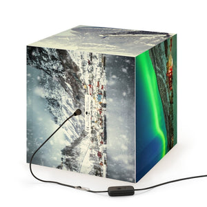 Rare and Beautiful CUBE LAMP Make the Wonders of NORWAY 5 x Images come to LIFE - Near the North Pole - Yunque Store